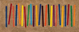 Mixed Stripes / Tapis anti-salissures 80 x 200 cm Wash & Dry (ref. 10148)