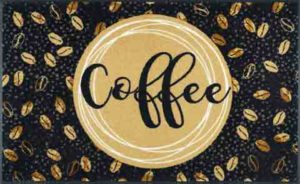 Coffee / Tapis anti-salissures 75 x 120 cm Wash & Dry (ref. 10159)