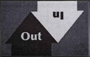 In & Out/ Tapis anti-salissures 75 x 190 cm Wash & Dry (ref. 10184)