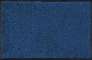Tapis Bleu Navy/ Tapis anti-salissures Wash & Dry (ref. 10227i)