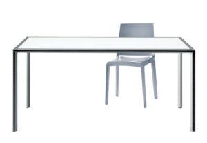 Enrico X / Bureau design en verre Rexite (ref. 10250i)