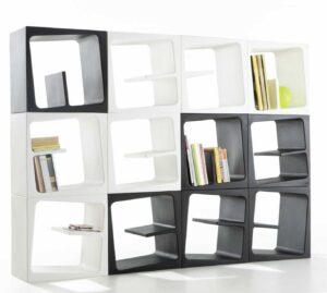 Quby / Bibliothèque modulable B-Line (ref. 10310i)