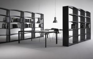 Chiave di volta / Bibliothèque 5 étagères Module de base Anthracite