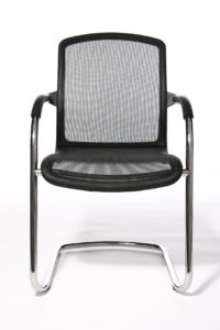Open net 100 / Chaise visiteur empilable Topstar (ref. 10685i)