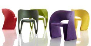 Raviolo / Chauffeuse design Magis (ref. 10748i)