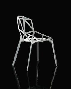 Chair One / Chaise en aluminium pieds vernis Magis (ref. 10790i)