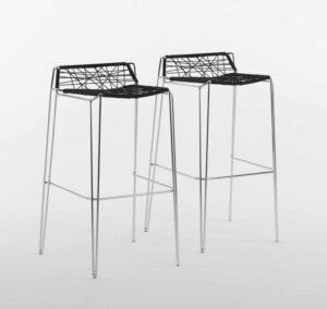 Penelope Strip stool / Tabouret Noir Casprini (ref. 10914)