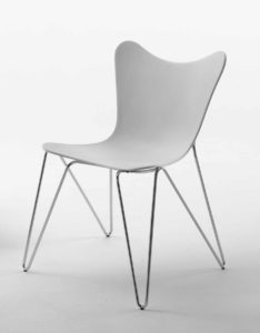 Trip / Chaise visiteur design Casprini (ref. 10926i)