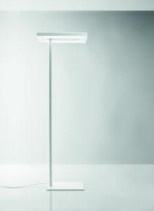Linea / Lampadaire latéral à LED Blanc Nyx by Karboxx (ref. 10944)