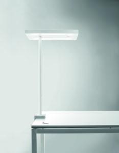 Linea bench / Lampe à LED avec fixation latérale Blanc Nyx by Karboxx (ref. 10947)