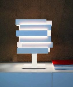 Escape / Lampe de table Blanc Karboxx (ref. 10963)