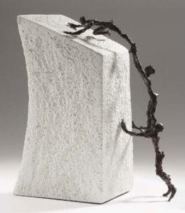 Toujours plus haut / Sculpture Ars mundi (ref. 11433)