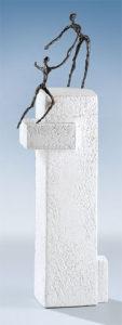 Avancer avec son partenaire / Sculpture Ars mundi (ref. 11443)