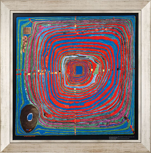 F. Hundertwasser / Reproduction Ars mundi (ref. 11448)