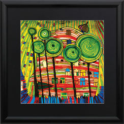 F. Hundertwasser / Reproduction Ars mundi (ref. 11450)