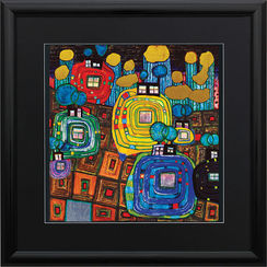 F. Hundertwasser / Reproduction Ars mundi (ref. 11451)