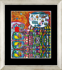 F. Hundertwasser / Reproduction Ars mundi (ref. 11452)