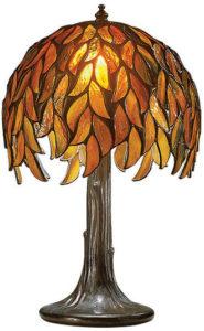 Louis C. Tiffany / Lampe réplique d'art Ars mundi (ref. 11467)