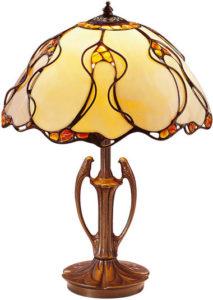 Louis C. Tiffany / Lampe réplique d'art Ars mundi (ref. 11470)
