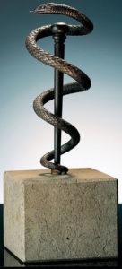 Caducée / Sculpture Ars mundi (ref. 11473)