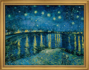 Van Gogh - Nuit étoilée… / Reproduction Ars mundi (ref. 11486)