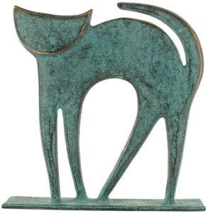 Chat / Sculpture en bronze Ars mundi (ref. 11491)