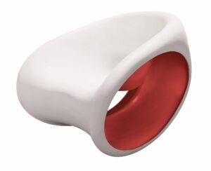 MT3 Driade / fauteuil à bascule design Driade (ref. 11554i)