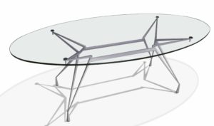 Apollonio / Table ovale 220 x 105 cm Casprini (ref. 11727)