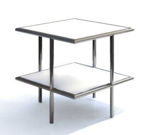 U.F.O. 44 / Table basse carrée D-TEC (ref. 11837i)