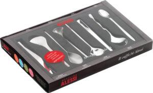 MSPOONSET / Set de 8 cuillères à café 8 designers Alessi (ref. 11918)