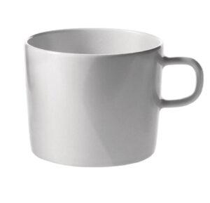 PlateBowlCup / Set de 8 tasses à thé + 8 soucoupes Jasper Morrison Alessi (ref. 11927)
