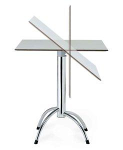 Et-voilà / Table avec plateau rabattable Segis (ref. 12133)
