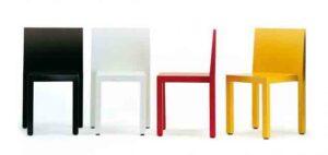 Uno / Chaise empilable confort Segis (ref. 12149i)