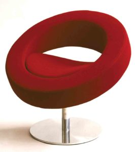 Hello Softline / Chaise design ronde Softline (ref. 12168i)