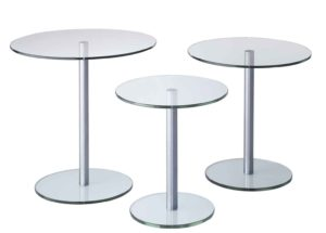 Circle / Table basse ronde Lourens Fisher (ref. 12240i)