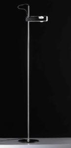 Spider / Lampadaire design noir Oluce (ref. 12261)