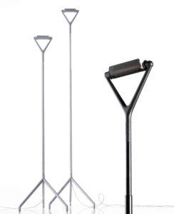 Lola / Lampadaire design télescopique avec variateur Luceplan (ref. 12311i)