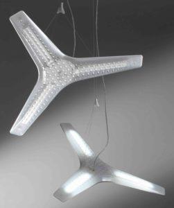 Aircon / Suspension transparent Luceplan (ref. 12318)