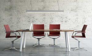 Ogi A / Table de réunion mdd (ref. 12543i)