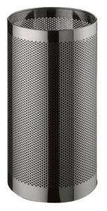 Forato / Corbeille à papier 38 L Acier perforé poli G-Line Pro (ref. 12747)