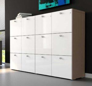 Mito / Armoire 6 tiroirs pour dossiers suspendus H128 x L98 cm mdd (ref. 13044)