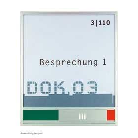 New Age / Plaque de porte H17,2 x 15 cm Libre-Occupé SignSystems (ref. 13098)