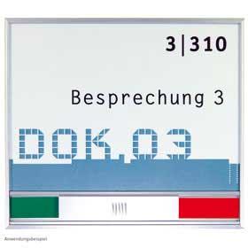 New Age / Plaque de porte H13,3 x 15 cm Libre-Occupé SignSystems (ref. 13099)