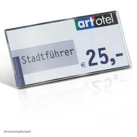 Individual / Porte-étiquette H3,5 x L7,3 cm lot de 10 pièces (ref. 13107)