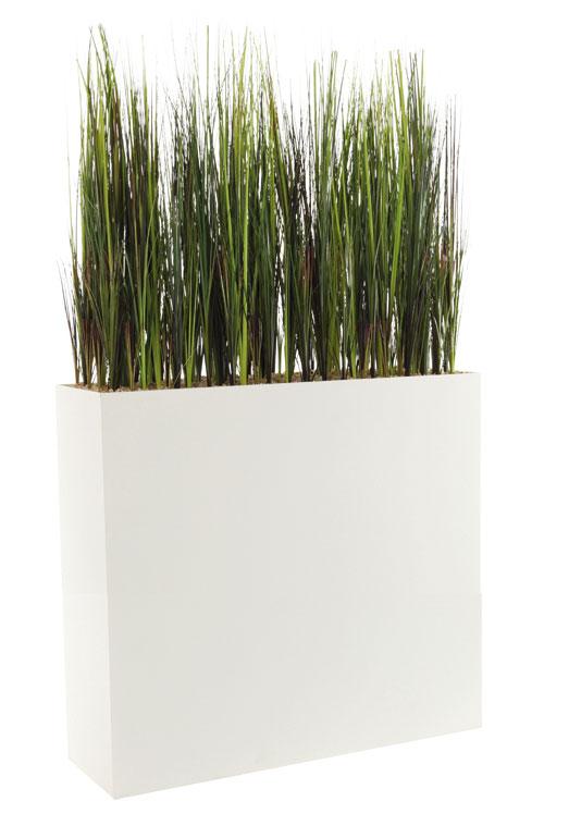 Herbes / Plantes artificielles + Jardinière H134 cm Genexco (ref. 13135i)