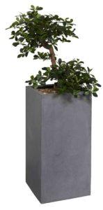 Bonsaï / Plante artificielle H145 cm Bac carré (ref. 13150i)