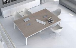 Impuls / Table de réunion rectangulaire mdd (ref. 13161i)