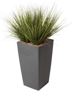 Graminées / Plante artificielle H110 cm Bac carré Genexco (ref. 13173i)