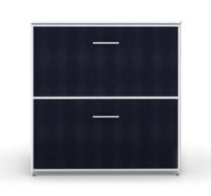 Modul space / Console 1 tiroir + 1 porte à clapet L80 x H81 cm Bosse (ref. 13453i)