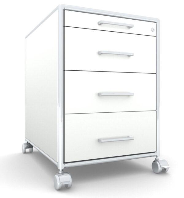 Modul space / Caisson à roulettes 3 tiroirs + 1 plumier Bosse (ref. 13499i)